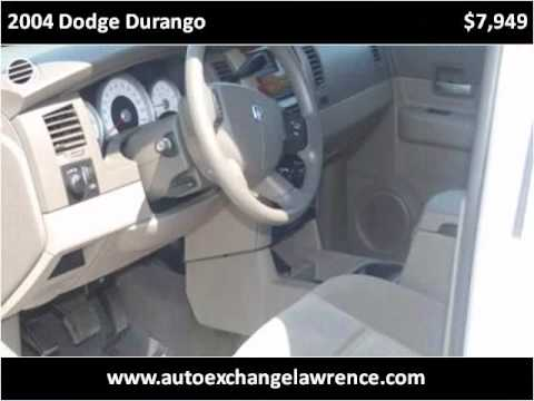 2004 Dodge Durango Used Cars Lawrence KS