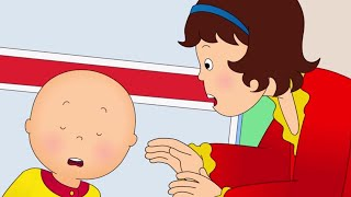 Funny Animated cartoons Kids | NEW | Caillou's Hiccups | WATCH ONLINE | Cartoon for Children