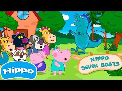 Гиппо 🌼 Ужасная Детская Вечеринка 🌼 Мультик игра для детей (Hippo)