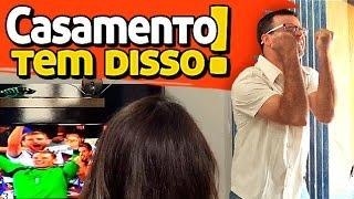 PARAFUSO SOLTO - CASAMENTO TEM DISSO!