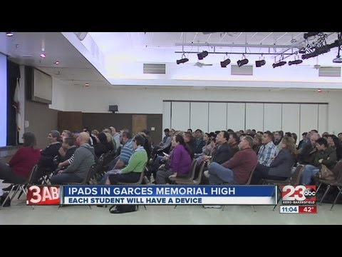 Each student will get an iPad at Garces Memorial High School next year