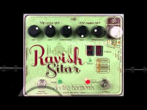 Electro Harmonix Ravish Sitar Guitar Pedal