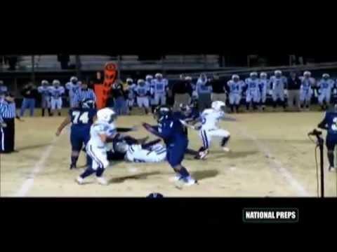 "Schuyler Coleman #78 OT/OL 6'6"" 350 Davidson Day School Junior Highlights 2013 Prospect"
