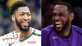 Anthony Davis isn't staying with the Pelicans, he's going to the Lakers - Max Kellerman | First Take