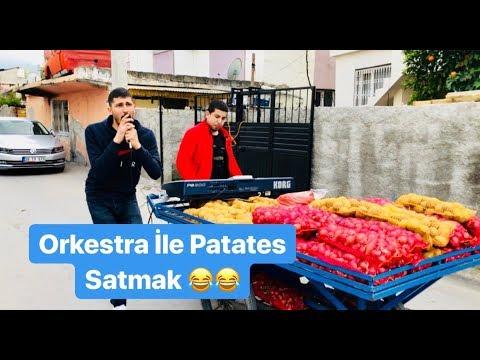 Orkestra İle Patates Soğan Satmak 😂😂 ( Sefa Kındır Mami )