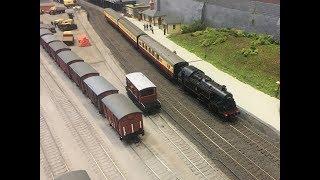 Burnham & District Model Railway Club Christmas Show 08/1/2018