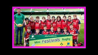 Breaking News   Aviva Stadium Hosts National Aviva Mini Rugby Festival