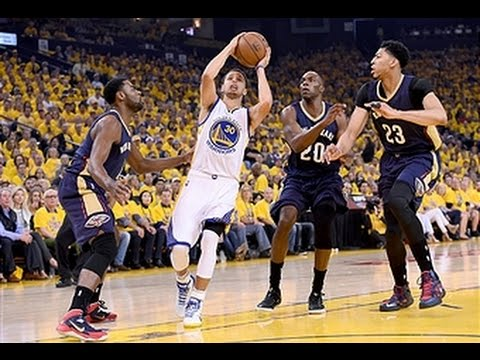 Davis and Curry Duel It Out in Game 1 of 2015 NBA Playoffs