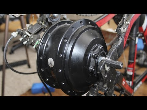 Мотор колесо MXUS c taobao на 340 оборотов в минуту