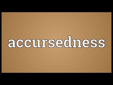 Header of Accursedness