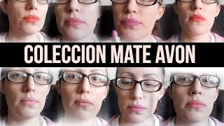 Review y swatches AVON MATE Collection- EUGE NOYA URUGUAY