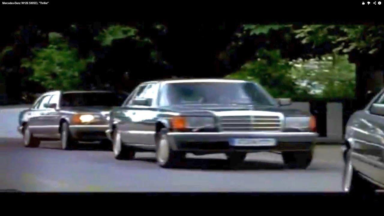 Mercedes Benz W126 500sel Quot Thriller Quot Youtube