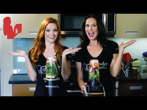 Nutri Ninja vs NutriBullet Rx Green Juice Test   Blender Babes
