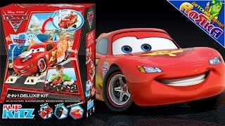 TOYS Disney Cartons : CARS 2 Lightning McQueen - Unboxing - HD