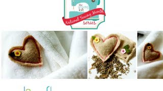 How To Sew A Lavender Sachet By Heather Valentine