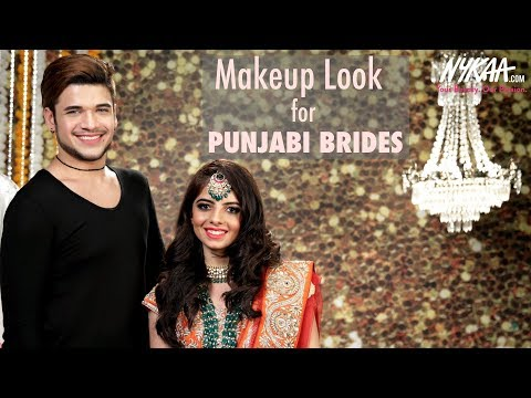 Indian Bridal Makeup Tutorial with Dr. Daddy Delicious | Punjabi Bride Look