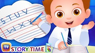 ChaCha Learns to Write - ChuChuTV Storytime Good Habits Bedtime Stories for Kids