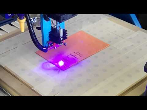 Adding a laser cutter to a CNC Router Mill