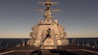 The Four $1.8 Billion Destroyers Circling Syria  8/29/13