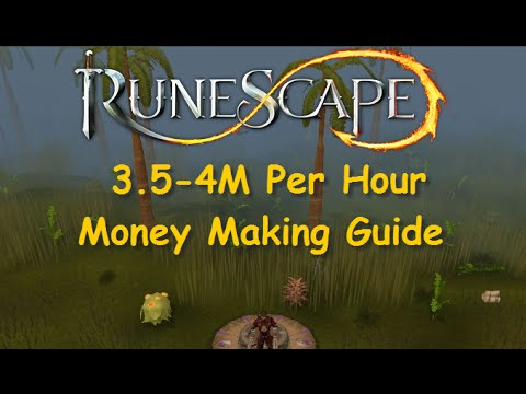 Runescape Guide: 3.5-4M Per Hour Money Making Guide [Legacy Mode] Runescape – iAm Naveed