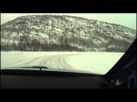 On-Board with Rally Driver Anders Grøndal on ice! Subaru Impreza
