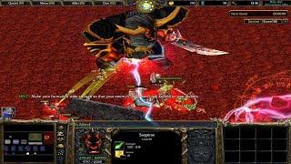 Warcraft 3 | Holy War | Night Elf | END GAME | SARGERAS DEFEATED | WINNER | SICK GAME
