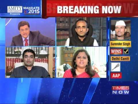 Mandate: Delhi Election 2015: #Feb10WithArnab - Part 1