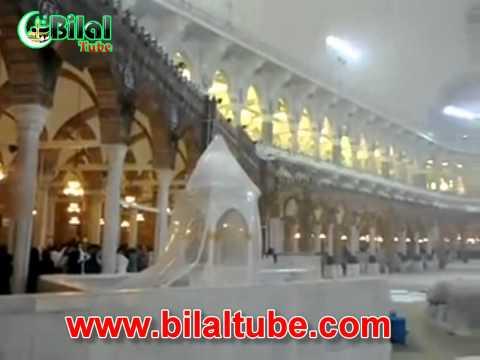 bilal tube - Very Beautiful View of Ka'ba [Raining]