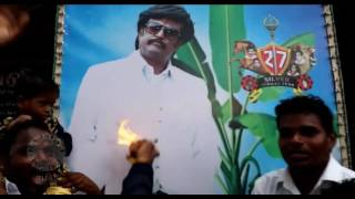 Kabali Poojai for Thalaivaa - Rajinikanth Tamil Movie - Kabali Movie Release - Fans Tribute