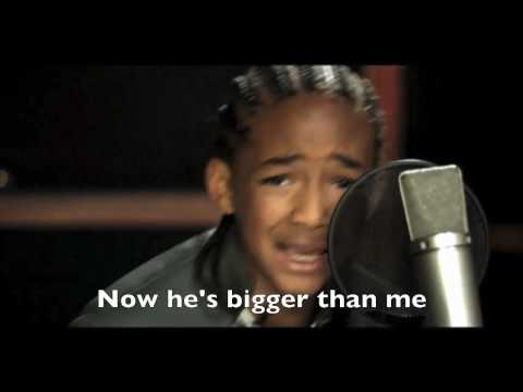 NEVER SAY NEVER // Jaden Smith Rapping with Lyrics