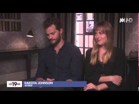 M6 LE1945 Interview with Jamie Dornan and Dakota Johnson