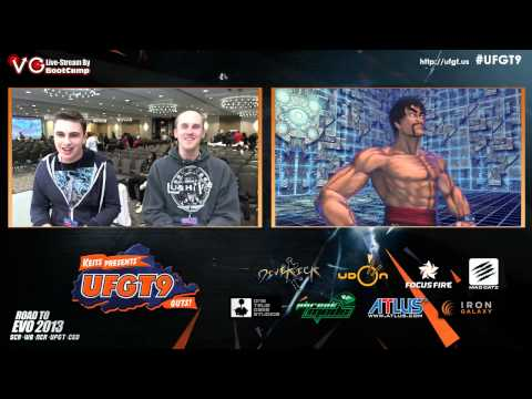 UFGT9  CJ Truth Vs. Chamberlain - Street fighter X Tekken Pools