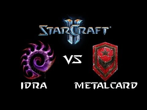 StarCraft 2 - IdrA [Z] vs MetalCard [T] (Commentary)