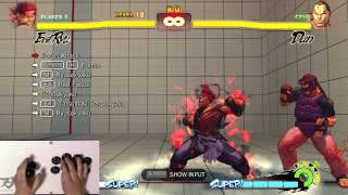 Ultra Street Fighter 4 Trial Mode - Evil Ryu (1080p 60fps)