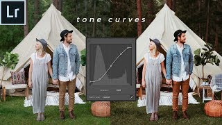 HOW TO USE THE TONE CURVE IN LIGHTROOM (Tone Curve Explained!)