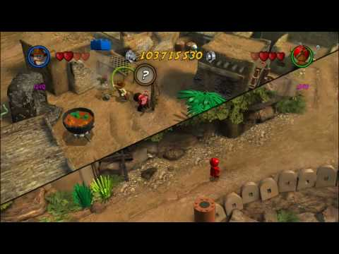 LEGO Indiana Jones 2 - Temple of Doom - Red Bricks