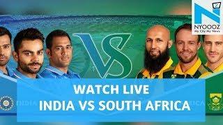 LIVE India vs South Africa 2018, 1st T20I Cricket Score | IndvsSA T20 | NYOOOZ TV