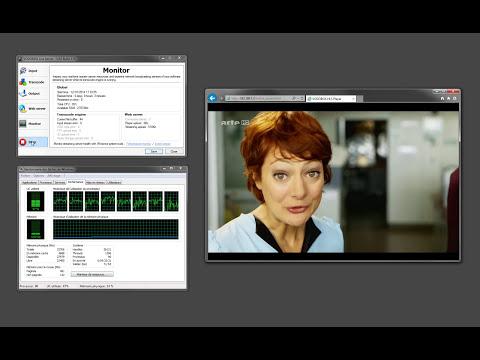 VODOBOX Live Server : HLS multi-bitrates live streaming