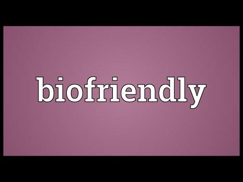 Header of biofriendly