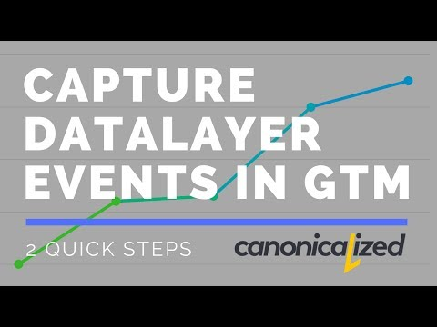 How to capture custom dataLayer events in Google Tag Manager [Enhanced Ecommerce]