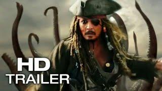 "Pirates of the Caribbean 6: ""Return Of The Kraken"" Movie Trailer #1 (2019) HD"