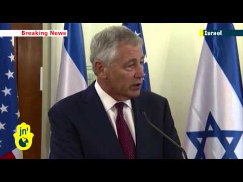 US Secretary of Defence Chuck Hagel reaffirms support for Israel