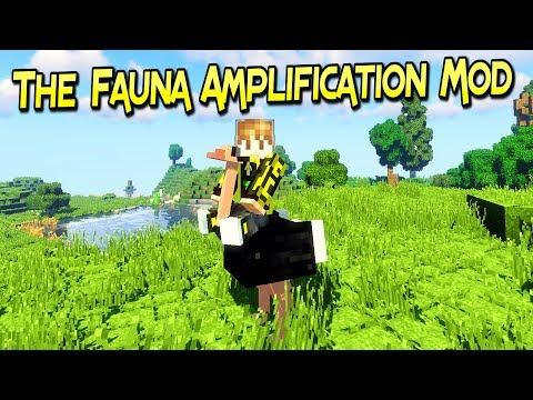 The Fauna Amplification Mod | Mas Criaturas Para Tus Aventuras | Minecraft 1.12.2 | Review Español