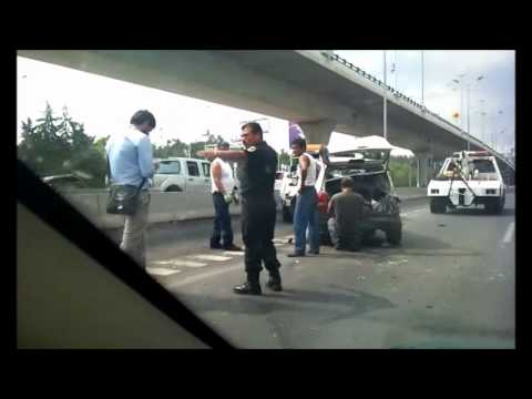 Accidente en Periferico Norte (Naucalpan)