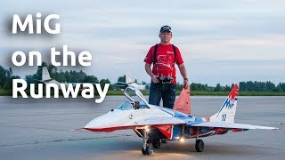MiG on the Runway