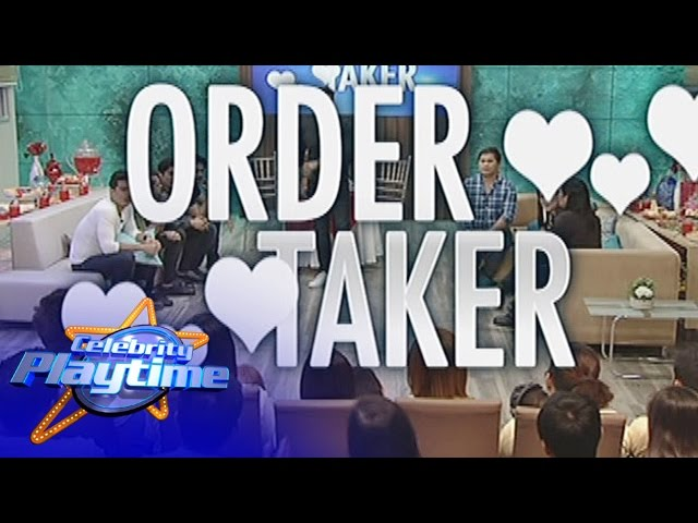 Celebrity Playtime: Order Taker
