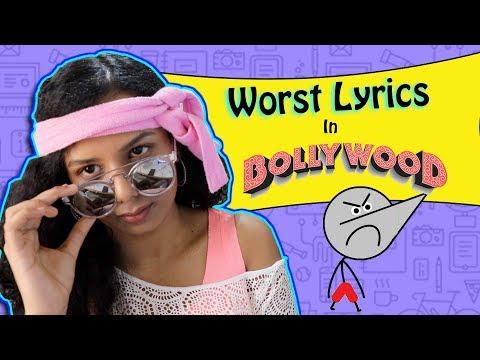 Worst Lyrics In Bollywood Songs | Ft. Angry Prash