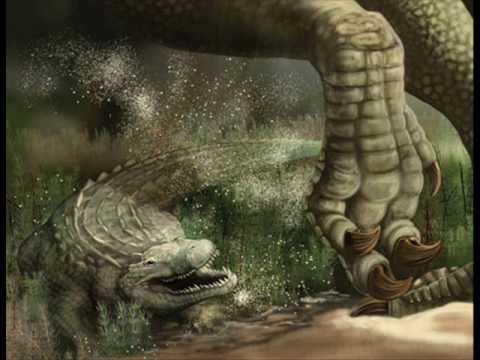 Deinosuchus vs Dunkleosteus - YouTube