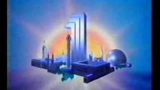 Kanal 1 vinjett / ident 1988