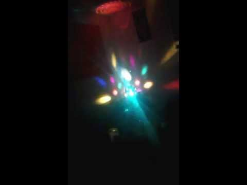 My Strobe And Colored Disco Lights.